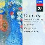 Chopin: Piano Sonatas Nos. 1 - 3; 24 Etudes; Fantaisie in F minor Songs