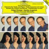 Mendelssohn: Concerto for Violin, Piano and Strings; Violin Concerto Songs