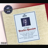Handel: Brockes Passion (3 Cds) Songs