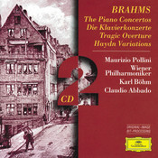 Brahms: The Piano Concertos; Tragic Overture; Haydn Variations (2 CD's) Songs