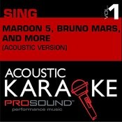 Sing Like Maroon 5, Bruno Mars, And More Songs