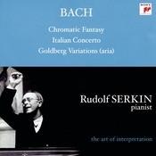 Bach: Aria From Goldberg Variations, BWV 989; Italian Concerto, BWV 971; Chromatic Fantasy And Fugue, BWV 903a; Cappricio; BWV 992; Brandenburg Concerto No. 5 Songs