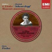 Schubert: 12 Lieder - Moments musicaux Songs
