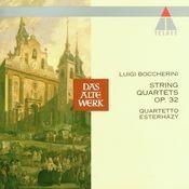 Boccherini: String Quartet Op. 32 No. 1 Songs