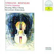 R Strauss Respighi Violin Sonatas Songs