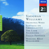Vaughan Williams Orchestral Works Songs