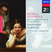 Spanish Music For Piano Ii Albeniz Granados Songs