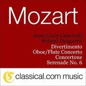 Wolfgang Amadeus Mozart, Divertimento, K. 136 Songs
