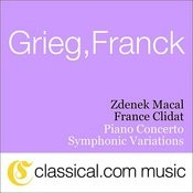 Edvard Grieg, Piano Concerto In A Minor, Op. 16 Songs