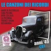 Le Canzoni Dei Ricordi Anni 40  Vol. 3 (Cd 1) Songs