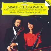 Bach, J.S.: Cello Sonatas BWV 1027-1029 Songs