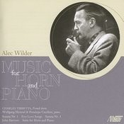 Wilder: Music For Horn And Piano Songs