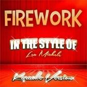 Firework (In The Style Of Lea Michele) [Karaoke Version] - Single Songs