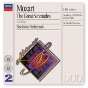 Mozart: The Great Serenades (2 CDs) Songs