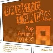 Backing Tracks / Pop Artists Index, A, (Alabama / Adriana Grande & Zedd / Adrianna Freeman / Adventures Of Stevie V / Alan Jackson), Volume 20 Songs