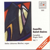 Saint-Saens: Complete Organ Works-Box Songs
