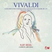 "Concerto For Strings And Continuo In G Major, Rv 151 ""alla Rustica"": II. Adagio Song"