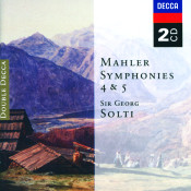 Mahler Symphonies Nos 4 Songs