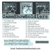 Game Show Soldiers: The Ken & Jim Show Songs