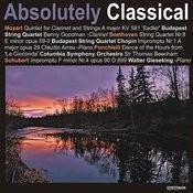 Mozart: Quintet For Clarinet & Strings in A Major/Beethoven: String Quartet No. 8 in E Minor, Op.59, No.2, Et. Al Songs