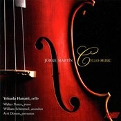 Jorge Martin: Cello Music Songs