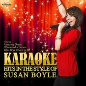 Karaoke Hits In The Style Of Susan Boyle Songs