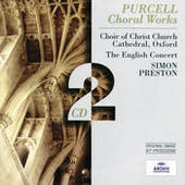 Purcell: Choral Works Songs