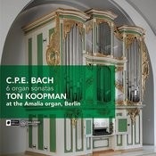 C.P.E. Bach: 6 Organ Sonatas Songs