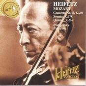 The Heifetz Collection Vol. 26 - Mozart Concerto, Sonata, Quintet Songs