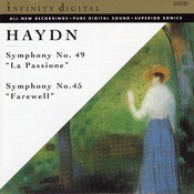Haydn: Symphony Nos. 49 & 45 Songs