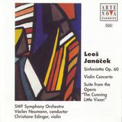 Janacek: Sinfonietta, Op. 60; Violin Concerto; Cunning Little Vixen Suite Songs