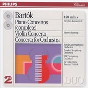Bartók: The Piano Concertos; Violin Concerto No.2; Concerto For Orchestra (2 Cds) Songs