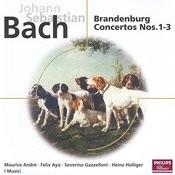 Bach, J.S.: Brandenburg Concertos Nos.1-3; Suite No.2 in B minor Songs