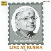 M S Subbulakshmi - Live At Russia Vol 1 Songs