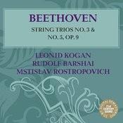 Beethoven: String Trios No. 3 & 5 Songs
