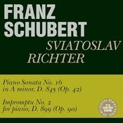 Schubert: Piano Sonata No. 16, Impromptu No. 2 Songs