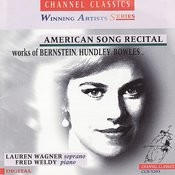 American Song Recital: Works Of Bernstein, Hundley, Bowles... Songs
