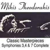 Classic Masterpieces Symphonies 3, 4 & 7 Complete Works Songs