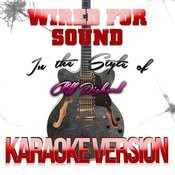 Wired For Sound (In The Style Of Cliff Richard) [Karaoke Version] - Single Songs
