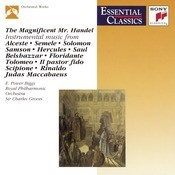 The Magnificent Mr. Handel Songs