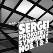 Rudolf Barshai Conducts: Sergei Prokofiev's Symphony Nos. 1 & 5 Songs