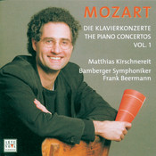 Mozart: Piano Concertos Vol. 1 Songs