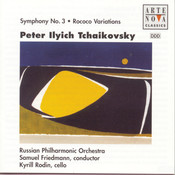 Tchaikovsky: Symphony No.3/Rokoko Variations Songs