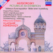 Mussorgsky: Pictures at an Exhibition (piano version & orchestration) Songs