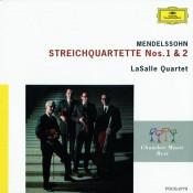 Mendelssohn: String Quartets Opp.12 & 13 Songs