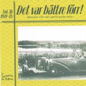Det Var Battre Forr Volym 3 B 1941 1945 Songs