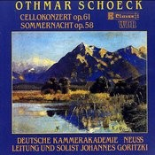 Cello Concerto, Op. 61/Summernight Op. 58 For Strings Songs