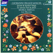 Sances: Sacred and Secular Songs for Soprano, Harp and Guitar Songs