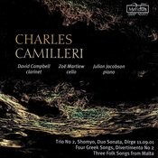 Camilleri: Four Greek Songs, Trio No.2, Shomyo, Etc. Songs