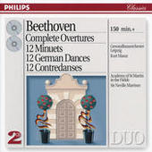 Beethoven: Complete Overtures / 12 Minuets / 12 German Dances, etc. (2 CDs) Songs